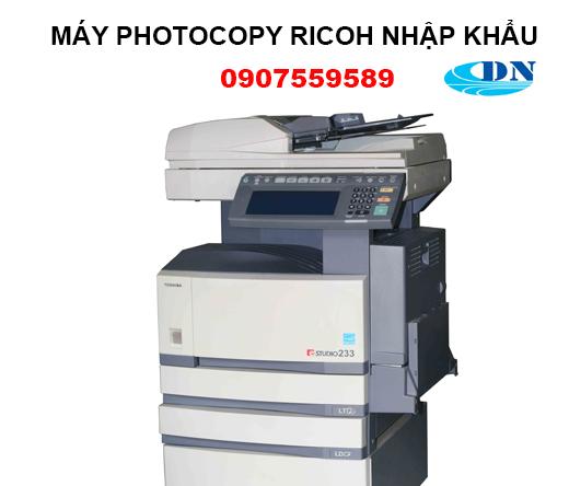 Bán máy photocopy nhập khẩu
