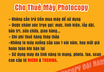 cho thue may photocopy
