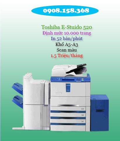 cho thuê máy photocopy văn phòng toshiba e520