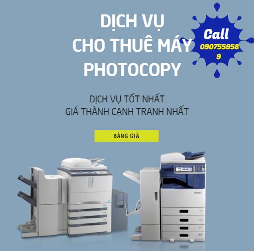 cho thuê máy photocopy tại tphcm