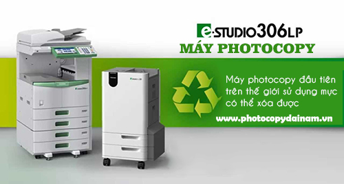 Máy photocopy toshiba estuido 306lp