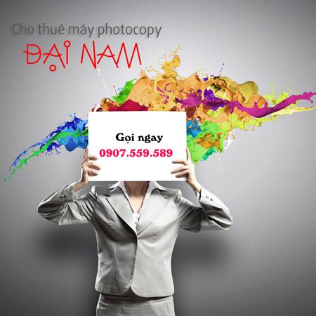 CHO THUÊ MÁY PHOTOCOPY KHU CÔNG NGHỆ CAO TPHCM
