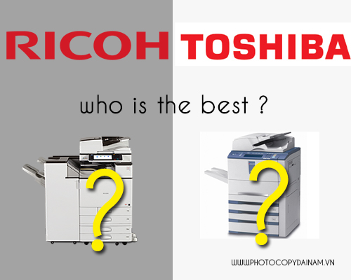 may photocopy ricoh va toshiba
